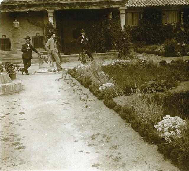 Museo del Greco en 1913. Fotografía de Luis Calandre Ibáñez