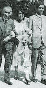 Ettore Majorana con il padre