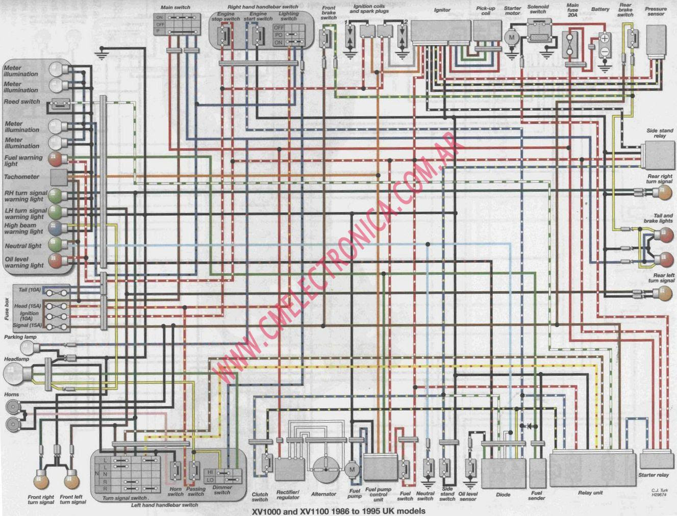 1995 Yamaha Wiring Diagram Wiring Diagram Effective A Effective A Bowlingronta It