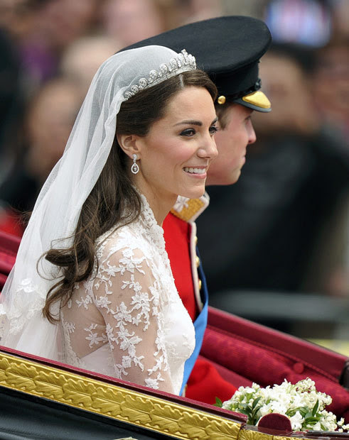 (via Royal wedding: Prince William and Kate Middleton marry at Westminster Abbey - Telegraph)