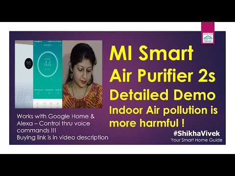 Mi Air Purifier 2s - Features and Demo