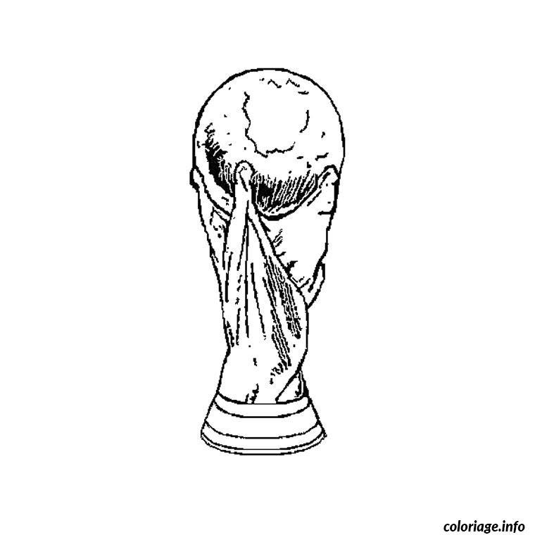 Coloriage Coupe Du Monde Jecoloriecom