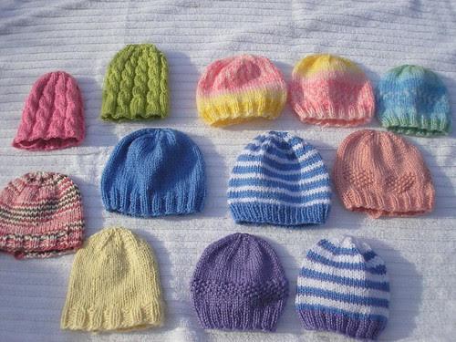 Preemie Hats I