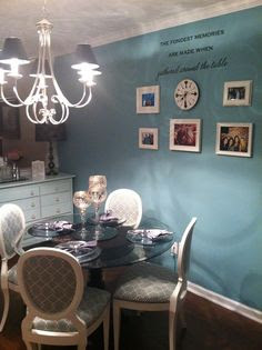 Turquoise Accent Walls on Pinterest