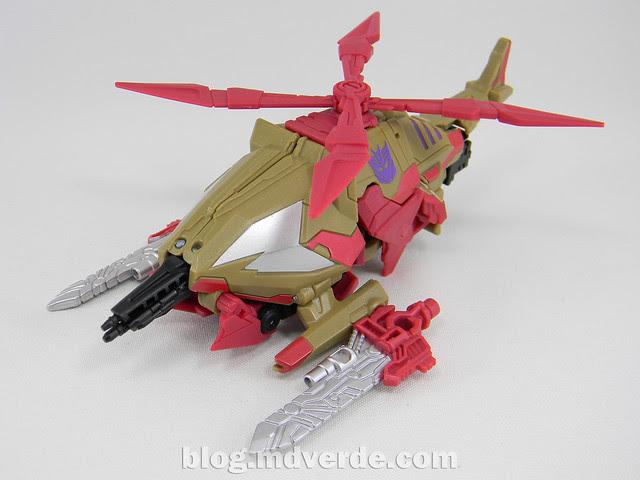 Transformers Vortex Generations Fall of Cybertron - SDCC Exclusive - modo alterno