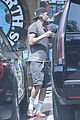 david beckham shows off tattooed arms after sweat sesh 03