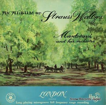 MANTOVANI album of strauss waltzes, an