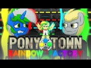 Pony Town: Rainbow Factory #3 nova animação do TioRafa