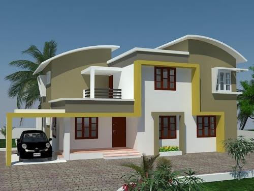 Tampil Beda Dengan Desain Atap Rumah Minimalis Unik Rumahminimalis Com