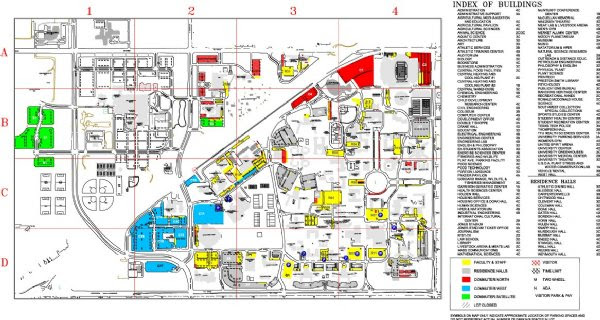 Texas Tech Campus Map Pdf | Business Ideas 2013