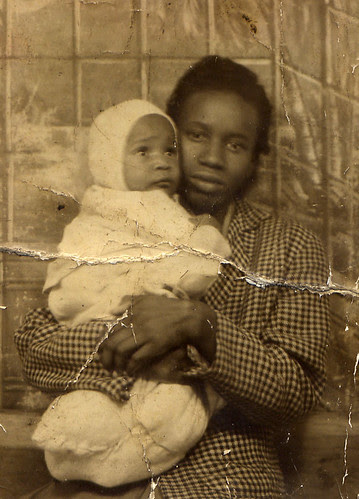 african-american mother and child