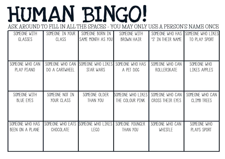 Medical bingo