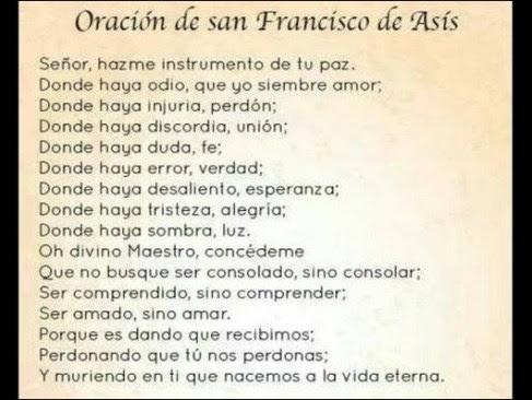 Oracion A San Francisco De Asis Para Pedir Un Milagro Oraciona