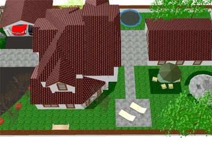 MMD Sketchup House 03