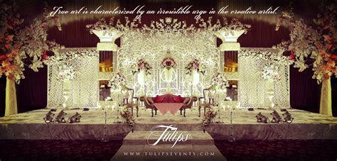 Crystals Wedding Theme Design Ideas in Pakistan