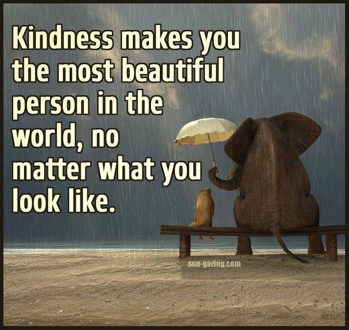 Kindness Makes You Beautiful Pictures Photos And Images For