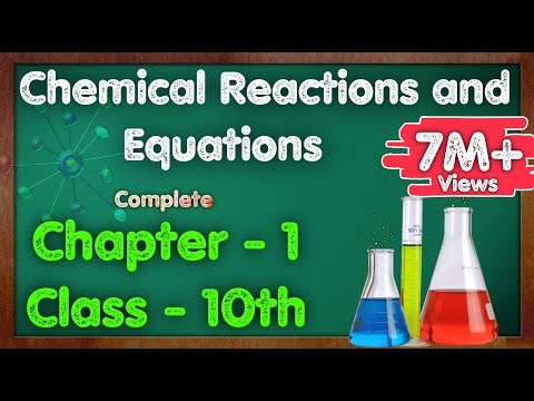 Chapter - 1, Chemical Reactions and Equations NCERT Solution