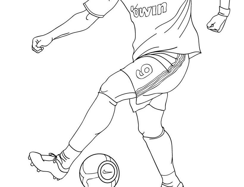 Coloriage204 coloriage de cristiano ronaldo - Ronaldo coloriage ...