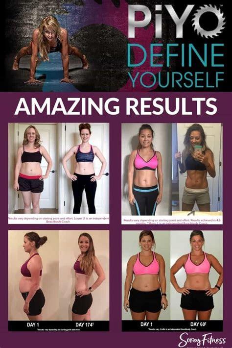 piyo results real piyo     exercise