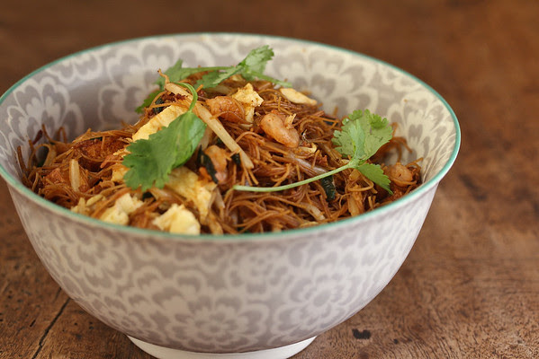 Nyonya-Style Singapore Noodles | Wok Wednesdays