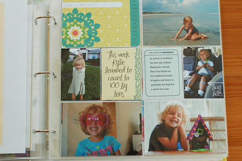 Project Life, Week 6 page 1