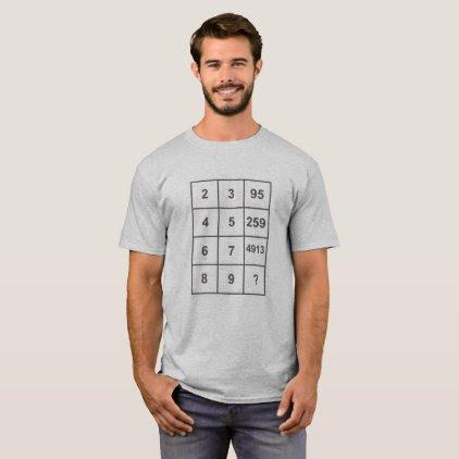 Math puzzle A026 T-Shirt