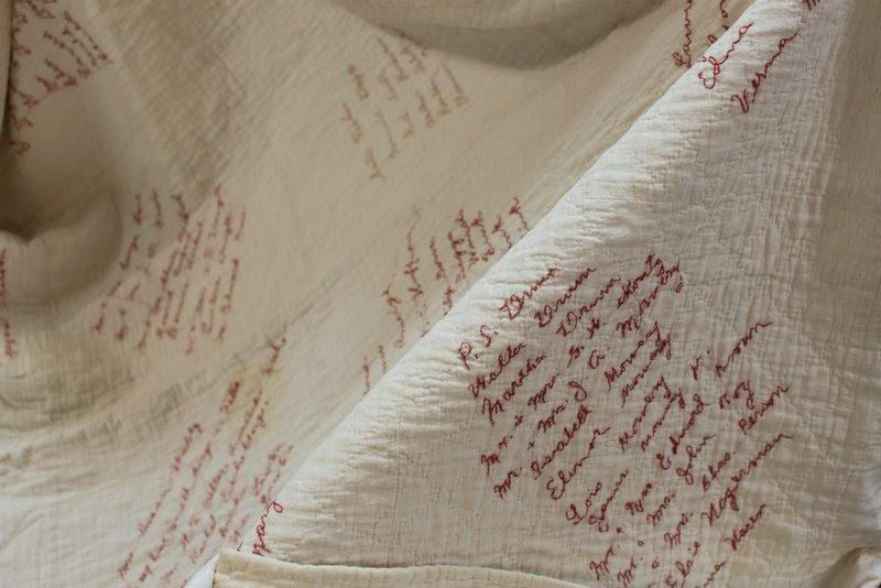 Antique signature quilt