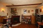 Basement: Interesting Family Room In Basement With Plaid Brown ...
