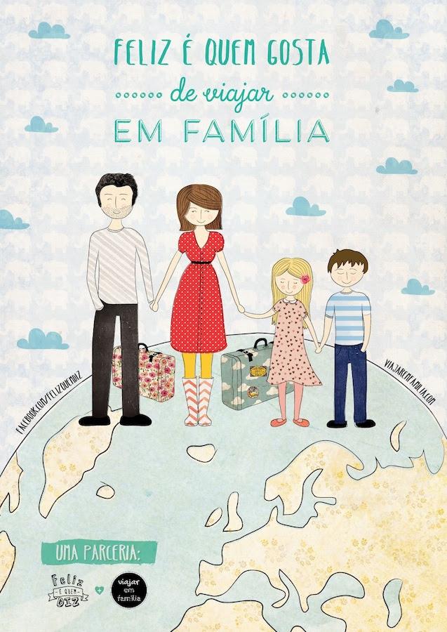 Feliz é Quem Gosta De Viajar Em Família Viajar Em Família