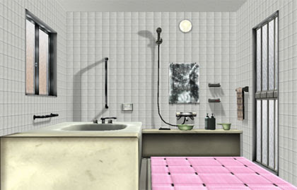 MMD Double Bathroom