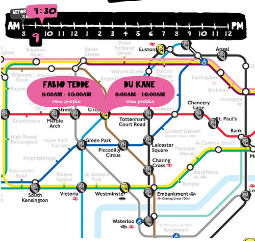 Busk'ear Tube Map