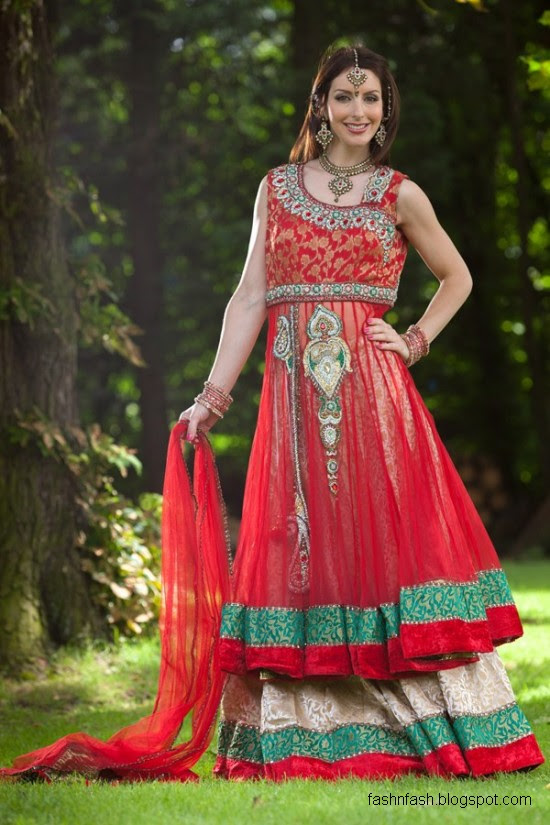Anarkali-Frocks-in-Double-Shirts-Style-Double-Shirt-Dresses-2012-2013-6