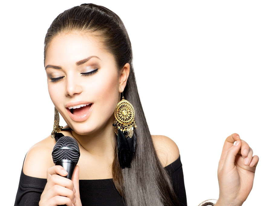 bigstock Singing Woman Beautiful Singi 59276603