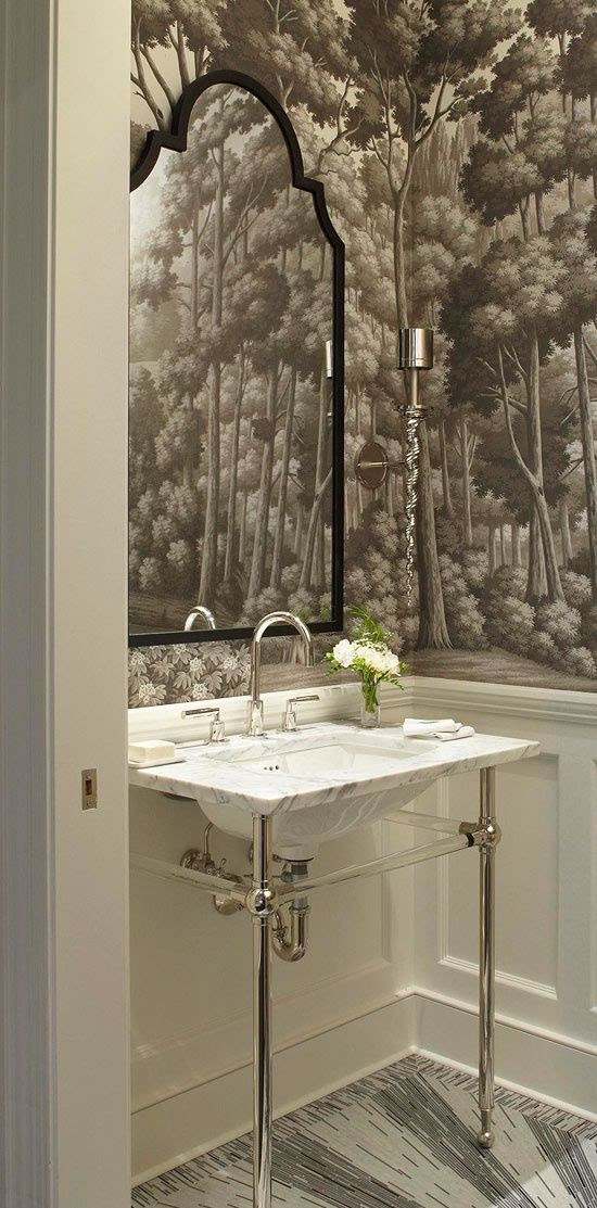 Very Small Bathrooms That Look Grande!