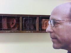 Jerry Saltz at Art Basel (Stuffy's)