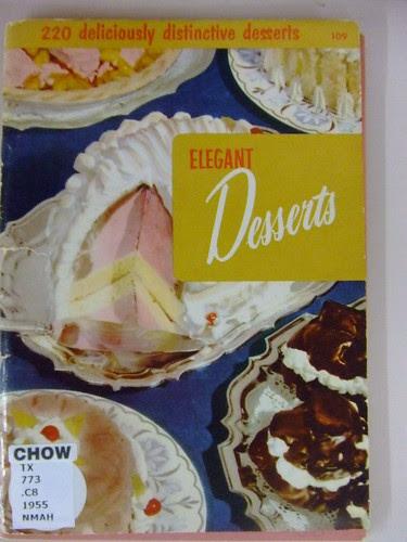 Elegant Desserts 1955