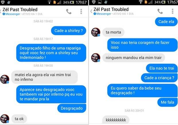 G1 Namorado Corta Cabeça De Grávida E Posta Foto No Facebook