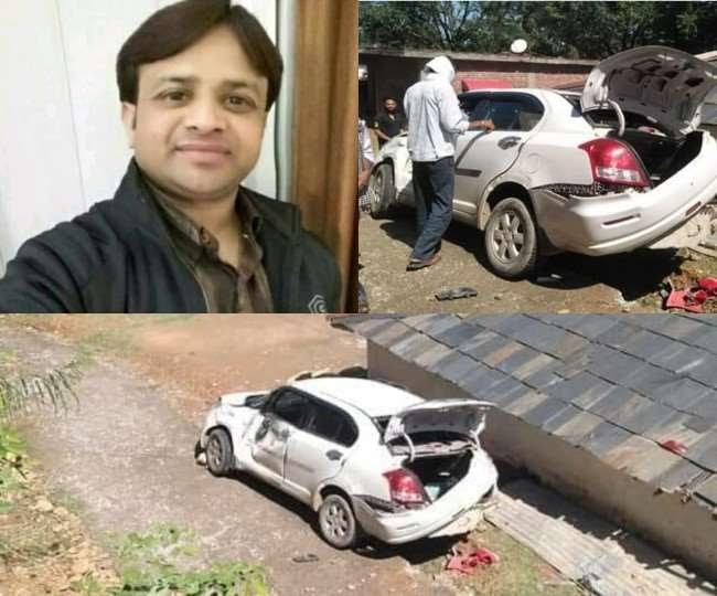 हिमाचल: कॉलेज प्रवक्ता की कार हादसे में मौत, साथ सवार शिक्षक भी घायल