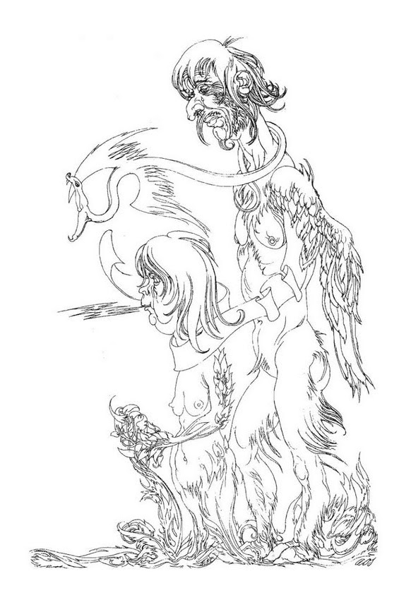 Austin Osman Spare, drawing 7