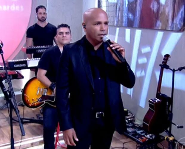 Rick anuncia carreira solo no 'Encontro' (Foto: Gshow/Encontro com Fátima)