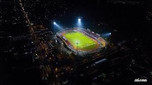 Jual Footage Aerial Drone Stadion Gelora Bangkalan Malam Hari Tahun 2017 (FHD)