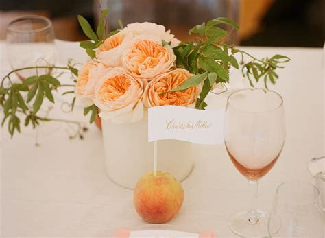 Peach Summer Wedding   Blush Floral Design