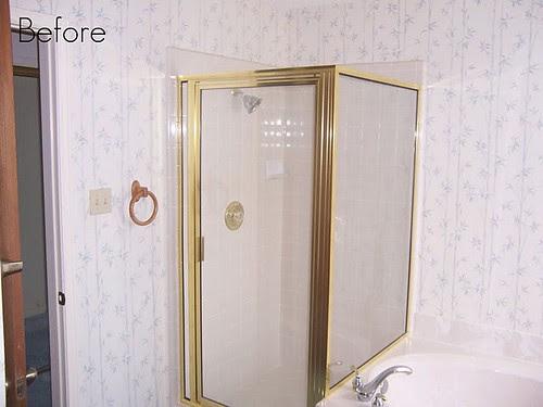 master shower before