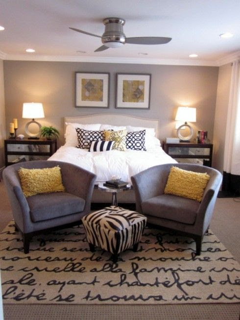 Ideas for Bedroom Decor: Master bedroom colors, grey walls ...