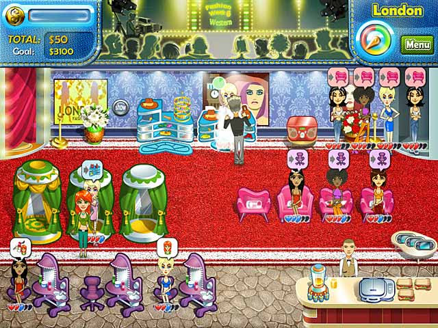 Juliette's Fashion Empire - NEW Time Management Game [AllSmartGames]