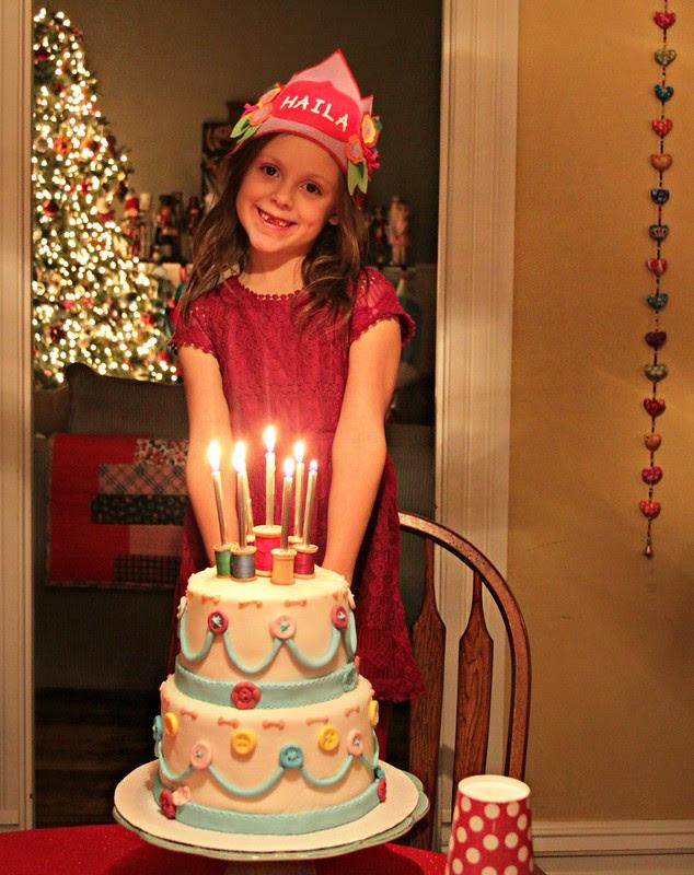 Haila turns seven!!