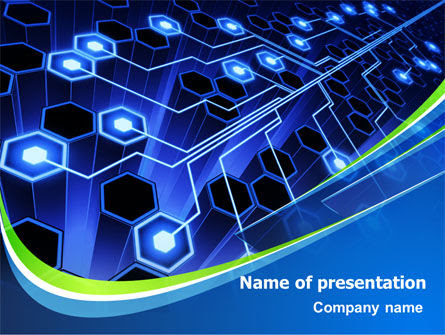Network Tree Free Presentation Template For Google
