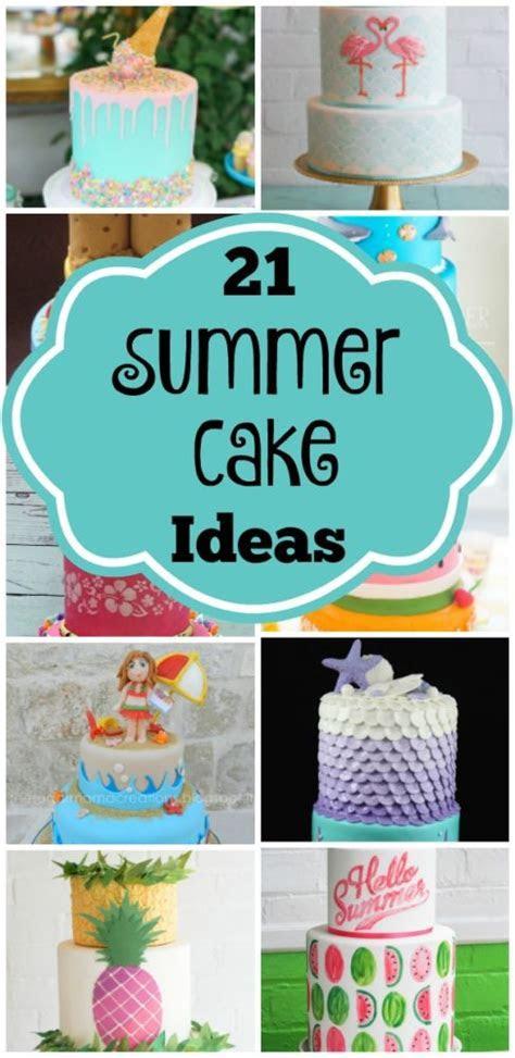 21 Sizzling Summer Birthday Cake Ideas   Pretty My Party