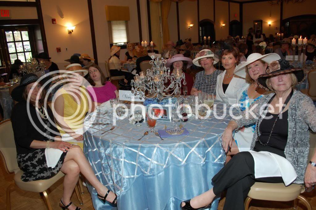 The Royal Wedding at The Smoke Rise Inn - Table 1