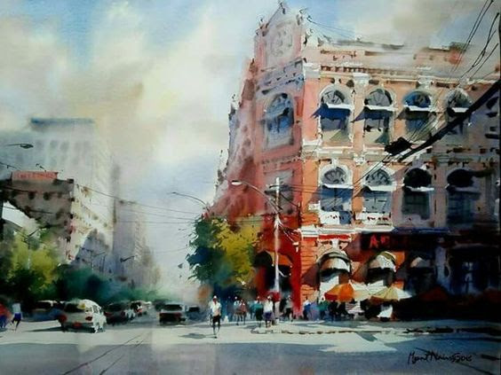 architectural water colors 9